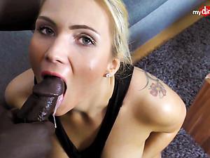 My Dirty Hobby - Busty blonde take a big black rod